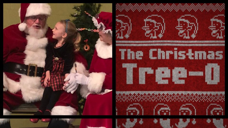 Christmas Open House & Live Music featuring Christmas Tree-O @ Vines & Rushes Winery        