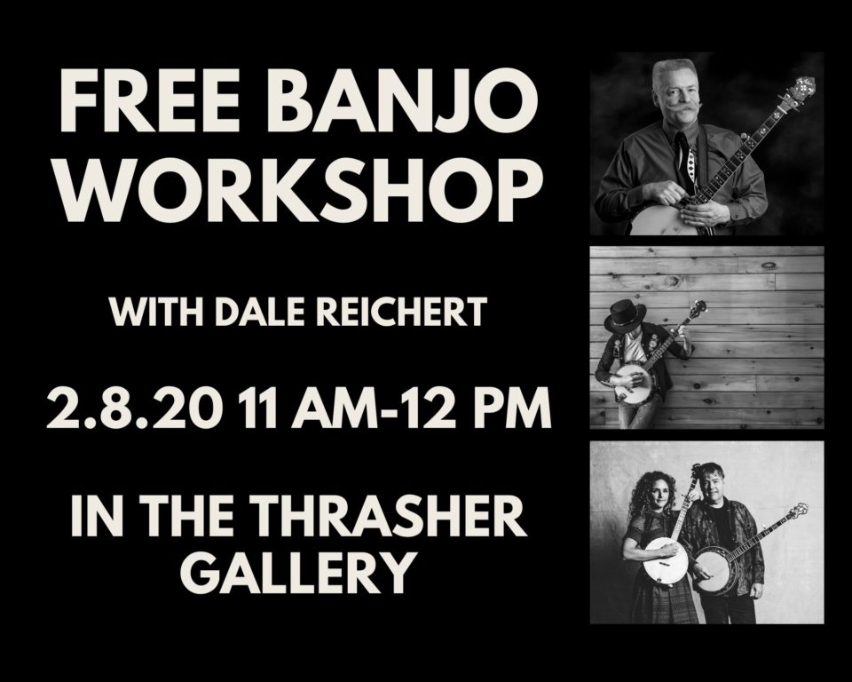 Free Banjo Workshop @ Thrasher Opera House |  |  |