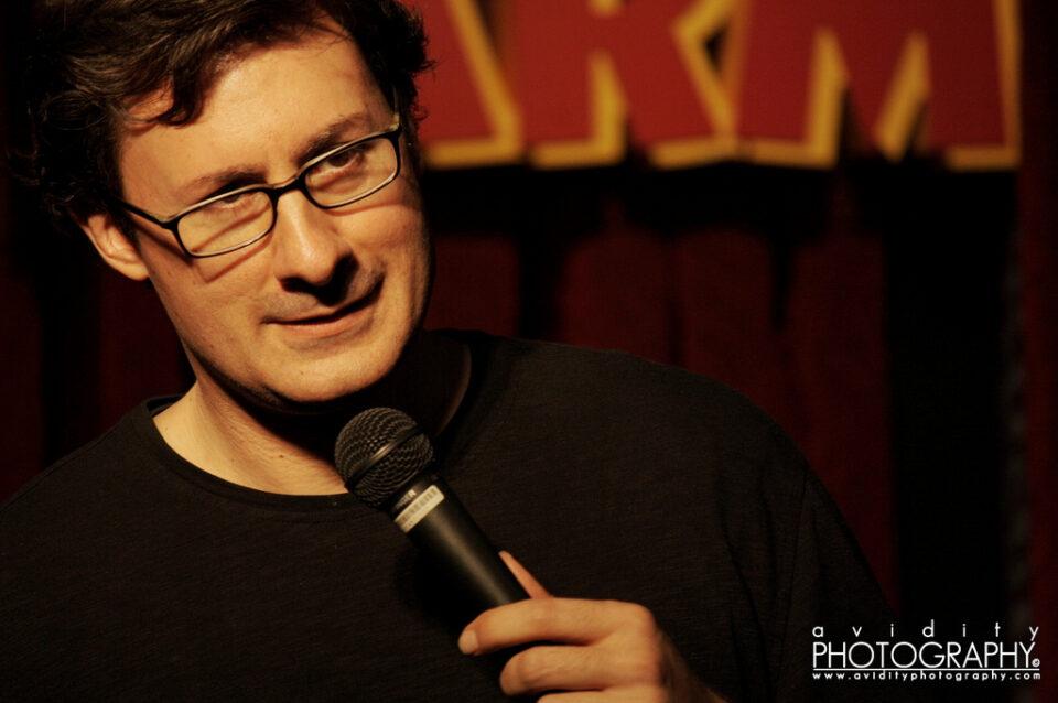Thrasher Opera House: Costacki Economopoulos (comedy) @ Thrasher Opera House        