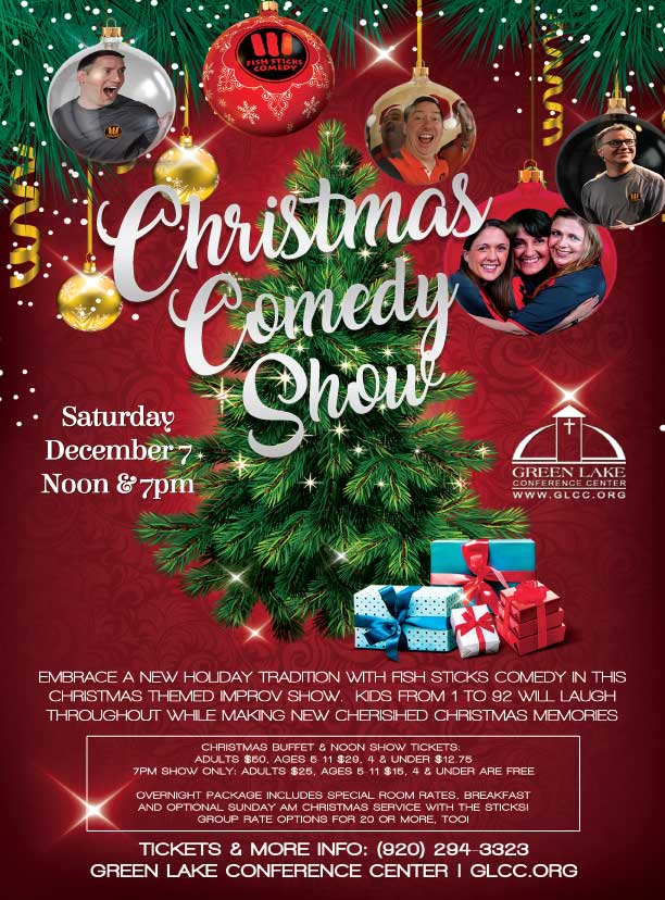 Christmas Comedy Show @ Green Lake Conference Center