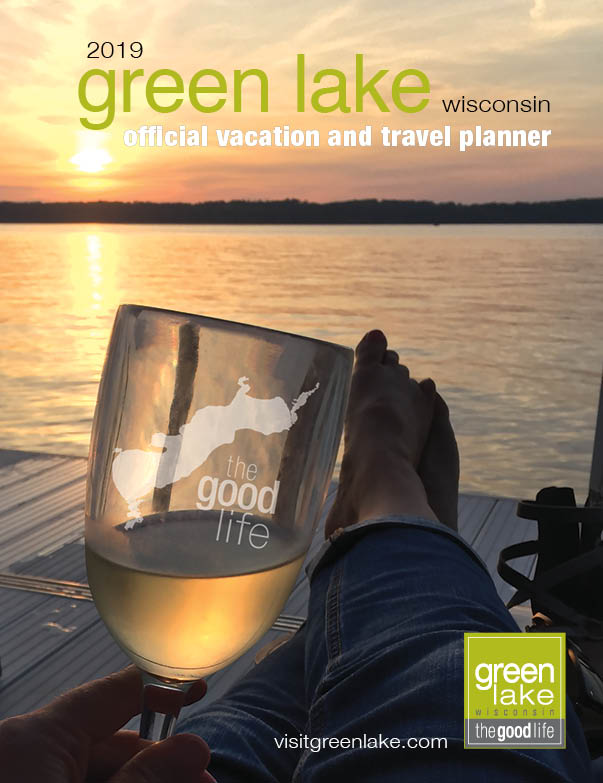 Green Lake Visitors Guide cover of lake