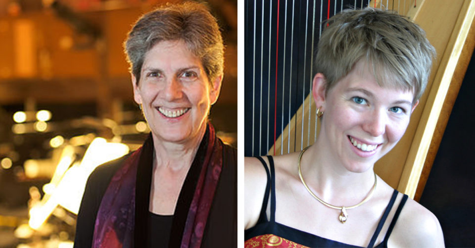 Cellist Laura Deming & Virginia Rogers Pollock @ Thrasher Opera House |  |  |