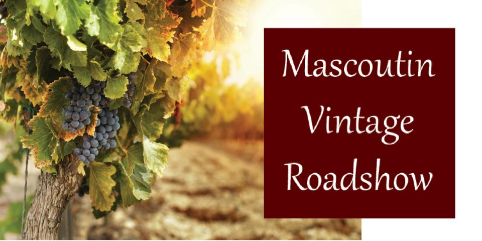 Mascoutin Vintage Roadshow @ Vines & Rushes Winery |  |  |