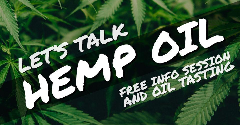 Let's Talk Hemp Oil! @ Town Square        