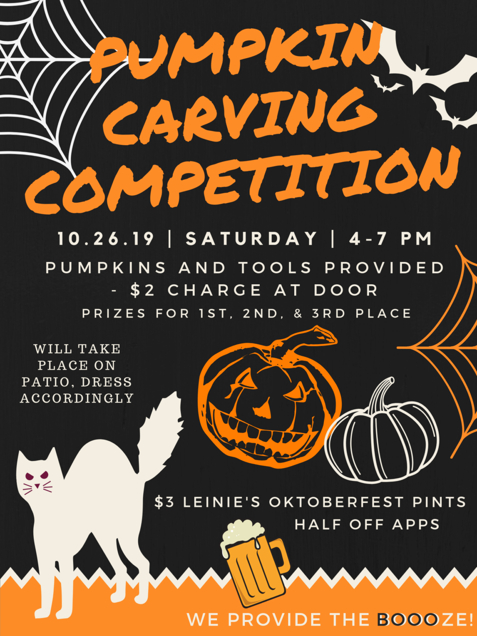Pumpkin Carving Competition @ Goose Blind Grill and Bar |  |  |