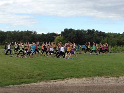 Yoga in the Vineyard @ Vines and Rushes Winery |  |  |