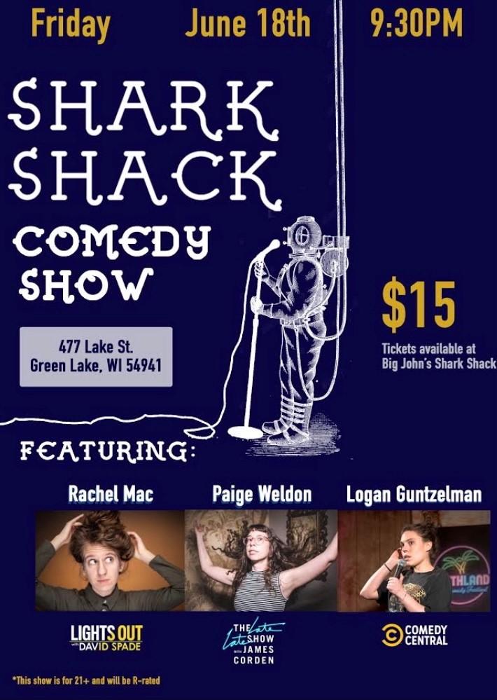 Comedy Show at Shark Shack @ Big John's Shark Shack  |  |  |