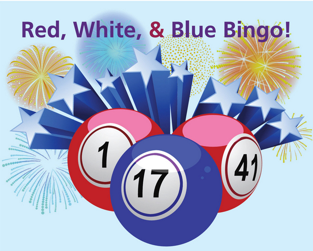 Red, White and Blue Bingo! @ Markesan Resident Home |  |  |