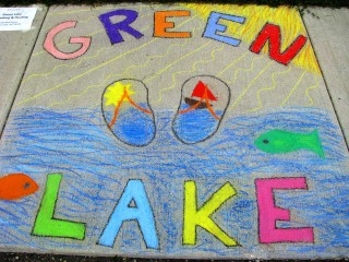 green-lake-wi-chalk-walk